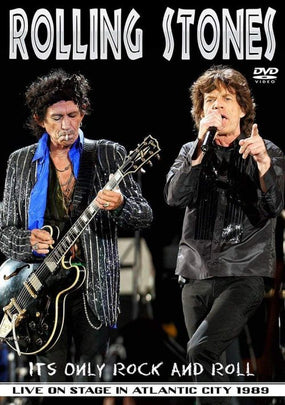 Rolling Stones - Its Only Rock And Roll - Live On Stage In Atlantic City 1989 (R0) - DVD - Music