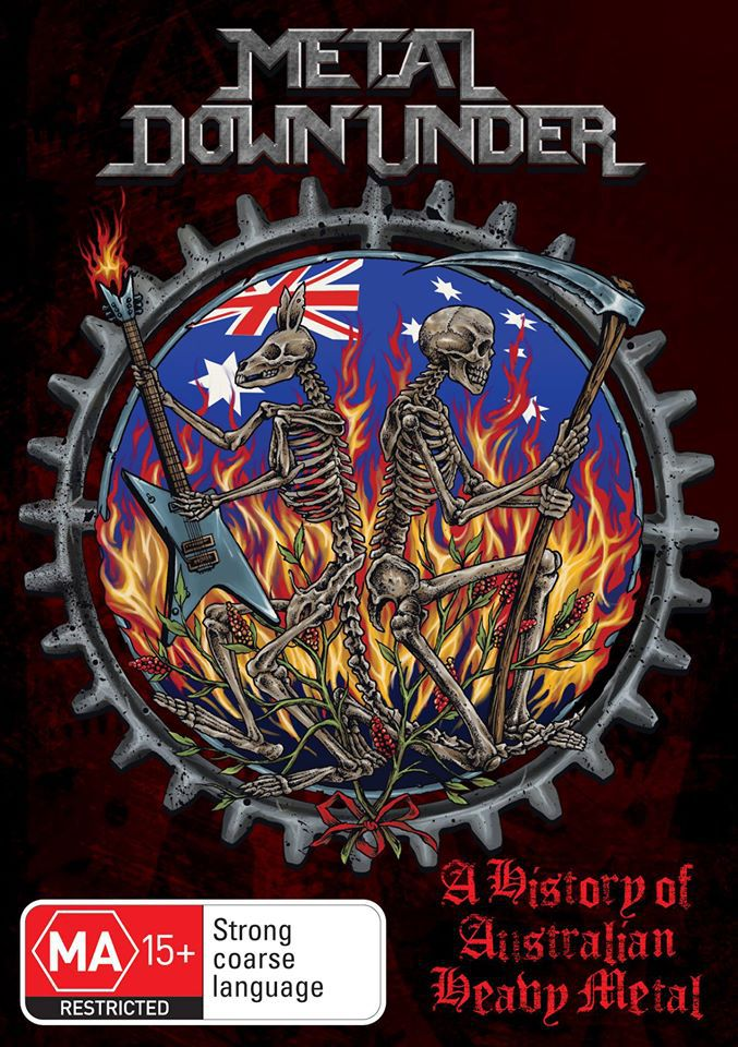 Metal Down Under - A History Of Australian Heavy Metal (R4) - DVD - Music