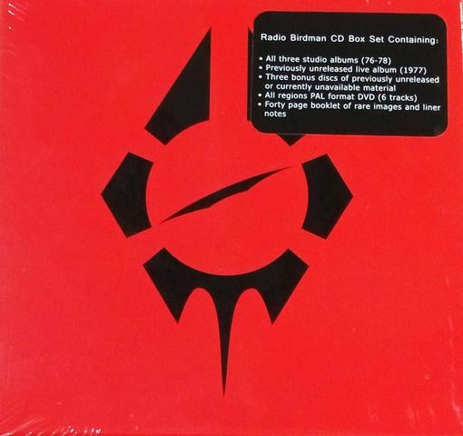 Radio Birdman - Radio Birdman CD Box Set (7CD+1DVD Re-issue) (R0) - CD - New
