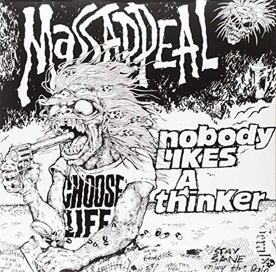 Massappeal - Nobody Likes A Thinker (2015 reissue gatefold w. bonus 7 Inch - 1000 copies) - Vinyl - New