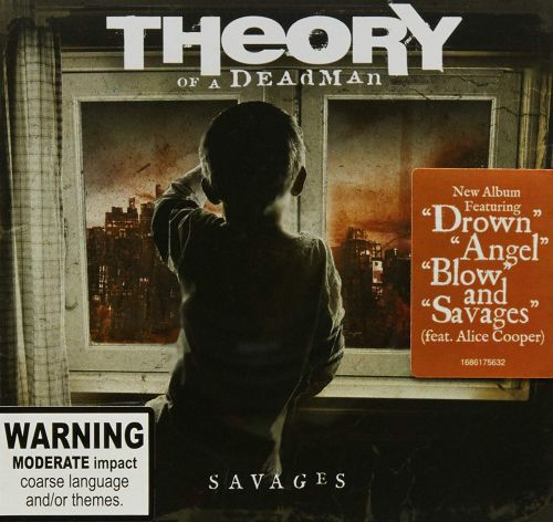 Theory Of A Dead Man - Savages - CD - New