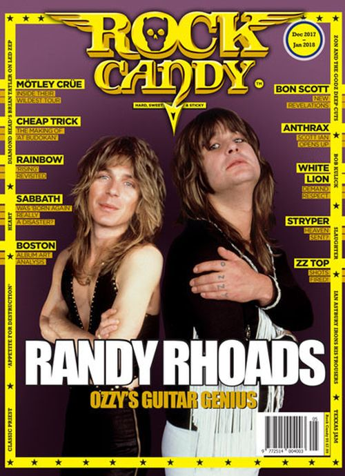 Rock Candy Magazine - Issue 5 - December 2017 - January 2018