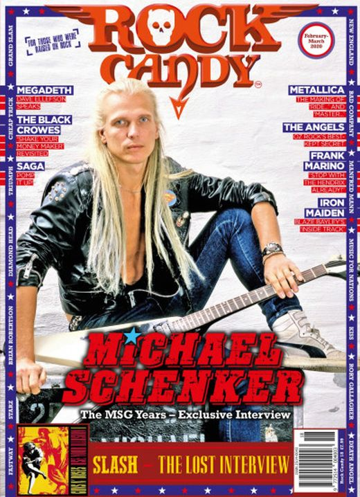 Rock Candy Magazine - Issue 18 - February - March 2020