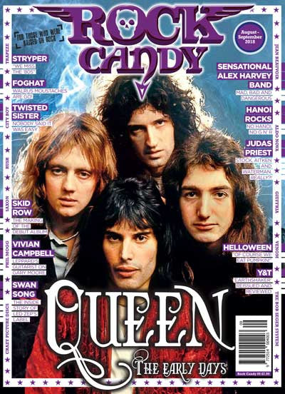 Rock Candy Magazine - Issue 9 - August - September 2018