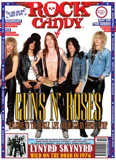 Rock Candy Magazine - Issue 10 - October - November 2018