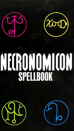 Necronomicon Spellbook - Book - New