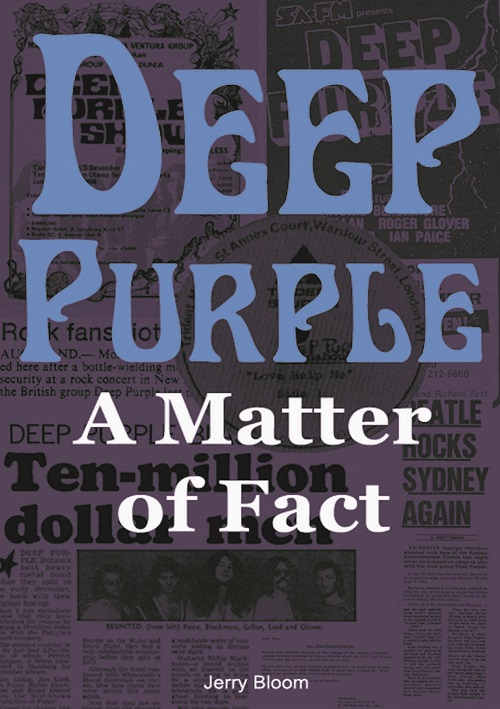 Deep Purple - Bloom, Jerry - Matter Of Fact, A - Book - New