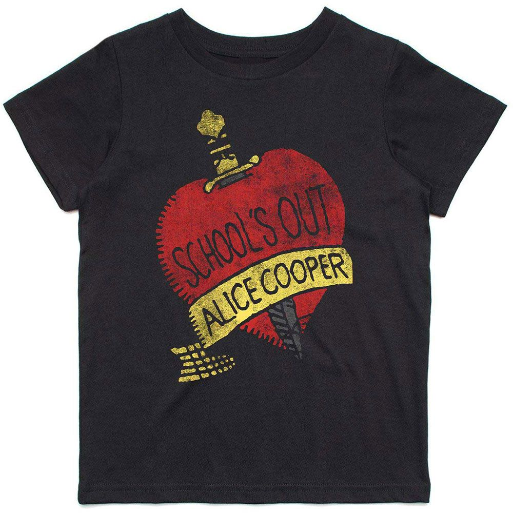 Cooper, Alice - School's Out Toddler and Youth Black Shirt