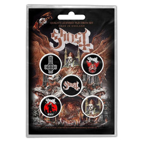 Ghost - 5 x 2.5cm Button Set - Prequelle