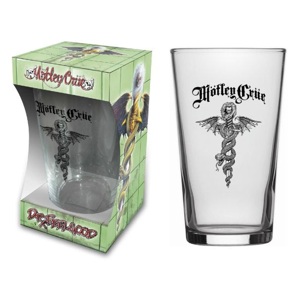 Motley Crue - Beer Glass - Pint - Dr Feelgood