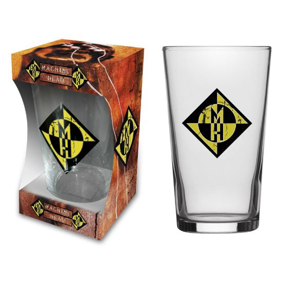 Machine Head - Beer Glass - Pint - Burn My Eyes