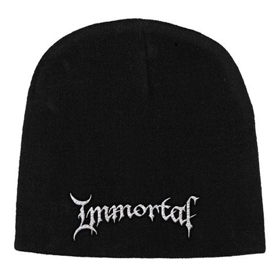 Immortal - Knit Beanie - Embroidered - Logo