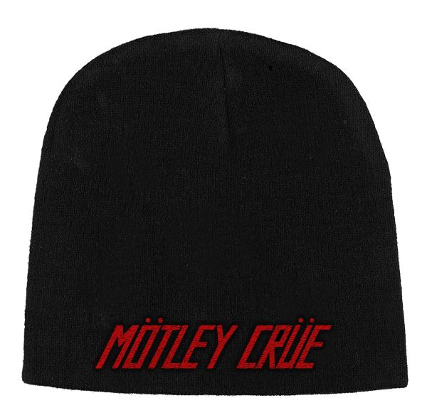 Motley Crue - Knit Beanie - Embroidered - Logo