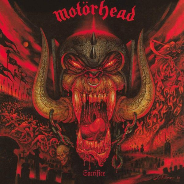 Motorhead - Sacrifice (2019 reissue) - CD - New