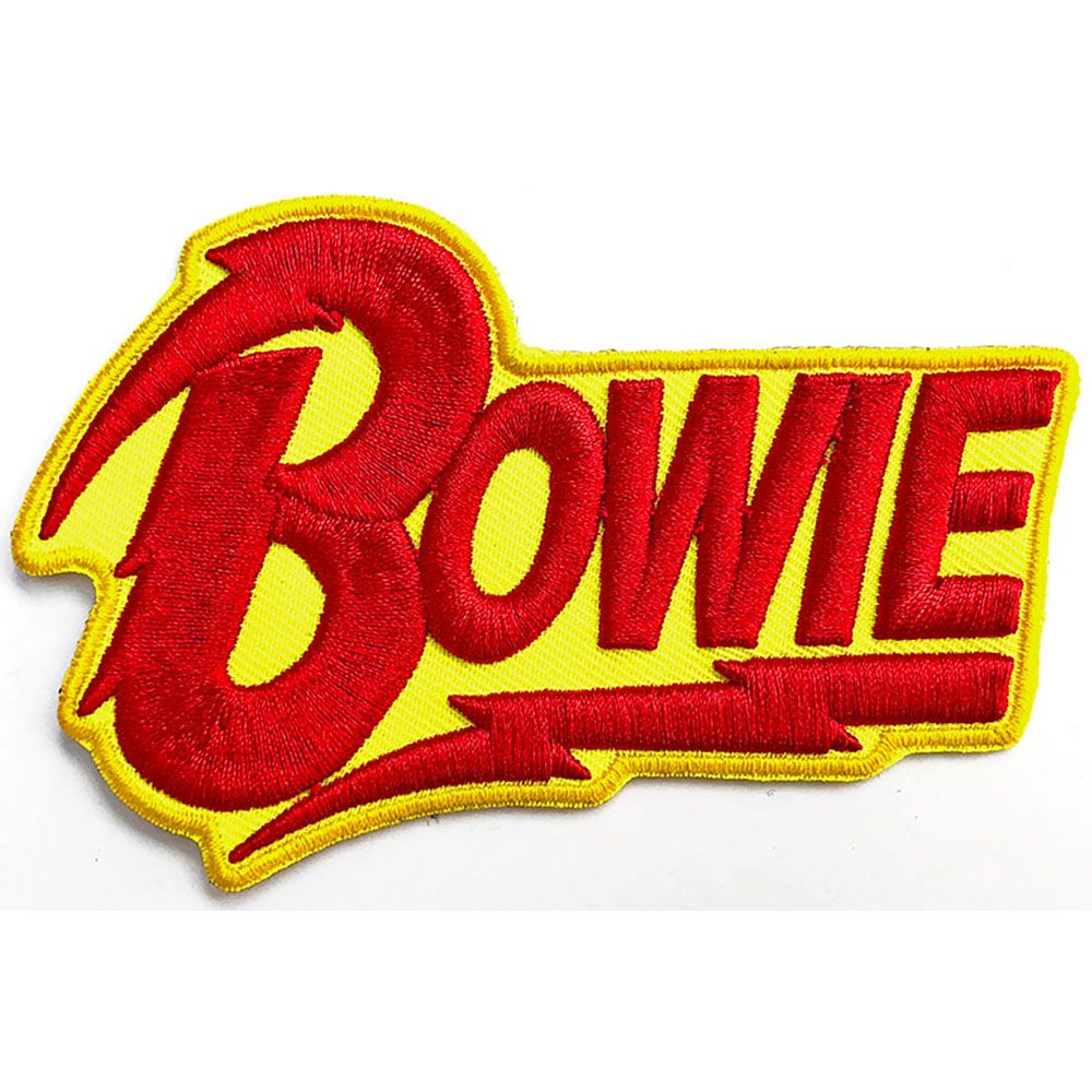 Bowie, David - Cut-out Logo Sew-On Patch