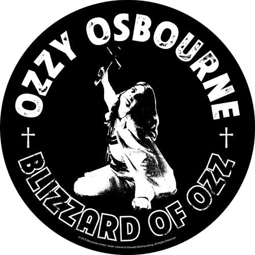 Osbourne, Ozzy - Blizzard Of Ozz - Sew-On Back Patch