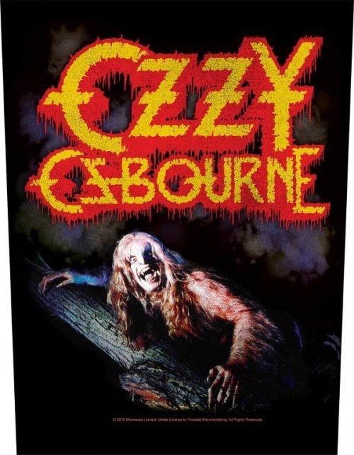 Osbourne, Ozzy - Bark At The Moon - Sew-On Back Patch