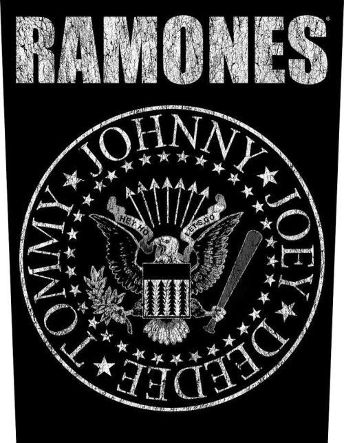 Ramones - Presidential Seal - Sew-On Back Patch