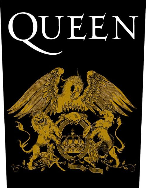 Queen - Crest - Sew-On Back Patch