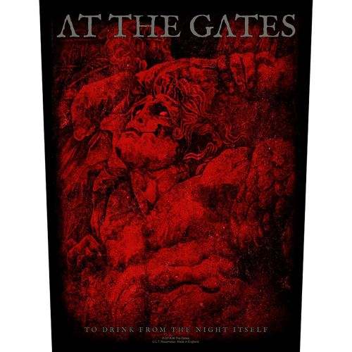 At The Gates - To Drink From The Night Itself - Sew-On Back Patch