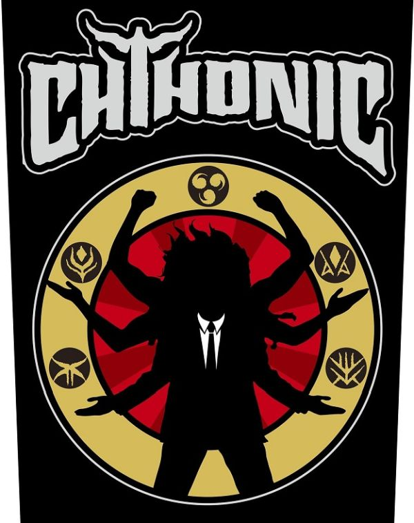 Chthonic - Deity - Sew-On Back Patch