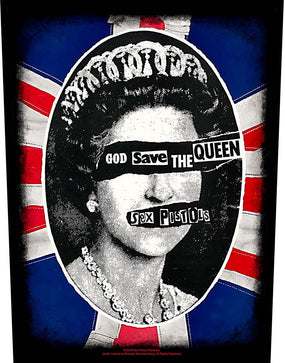 Sex Pistols - God Save The Queen - Sew-On Back Patch
