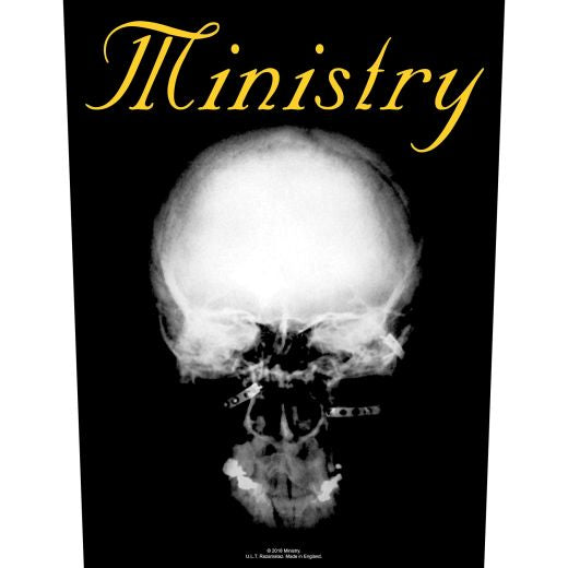 Ministry - The Mind Is A Terrible Thing To Taste - Sew-On Back Patch