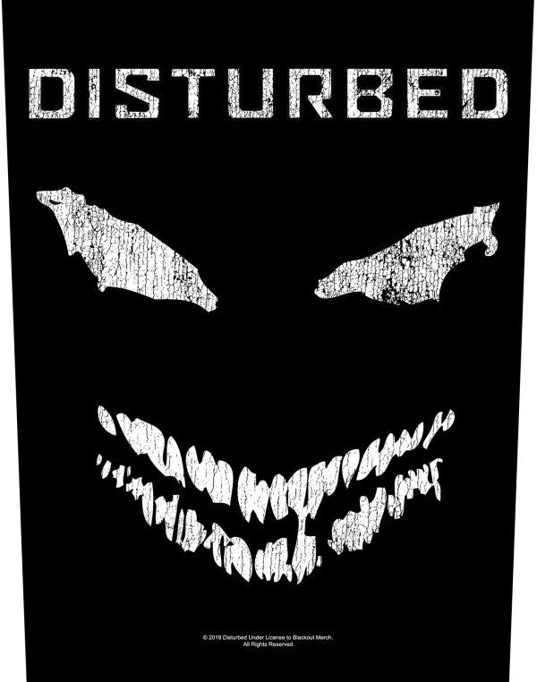Disturbed - Face - Sew-On Back Patch