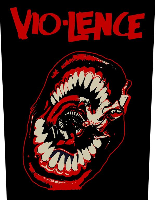 Vio-Lence - Eternal Nightmare - Sew-On Back Patch