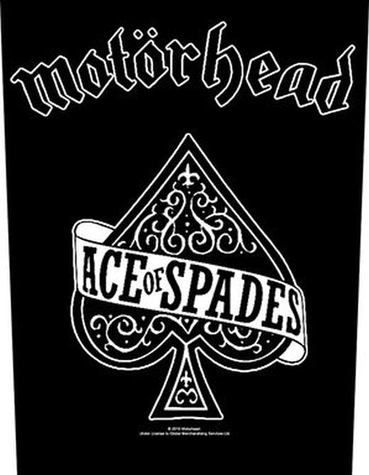 Motorhead - Ace Of Spades - Sew-On Back Patch
