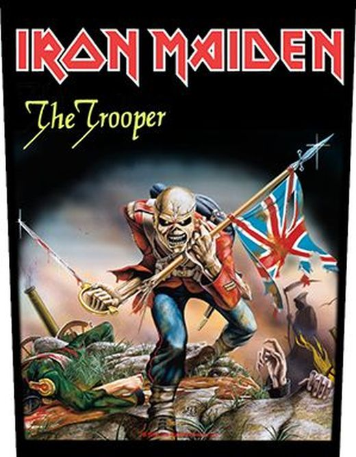 Iron Maiden - Trooper - Sew-On Back Patch