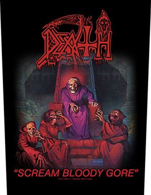 Death - Scream Bloody Gore - Sew-On Back Patch
