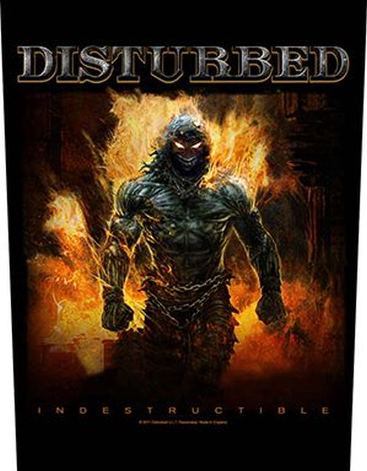 Disturbed - Indestructible - Sew-On Back Patch