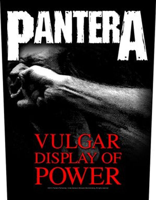 Pantera - Vulgar Display Of Power - Sew-On Back Patch
