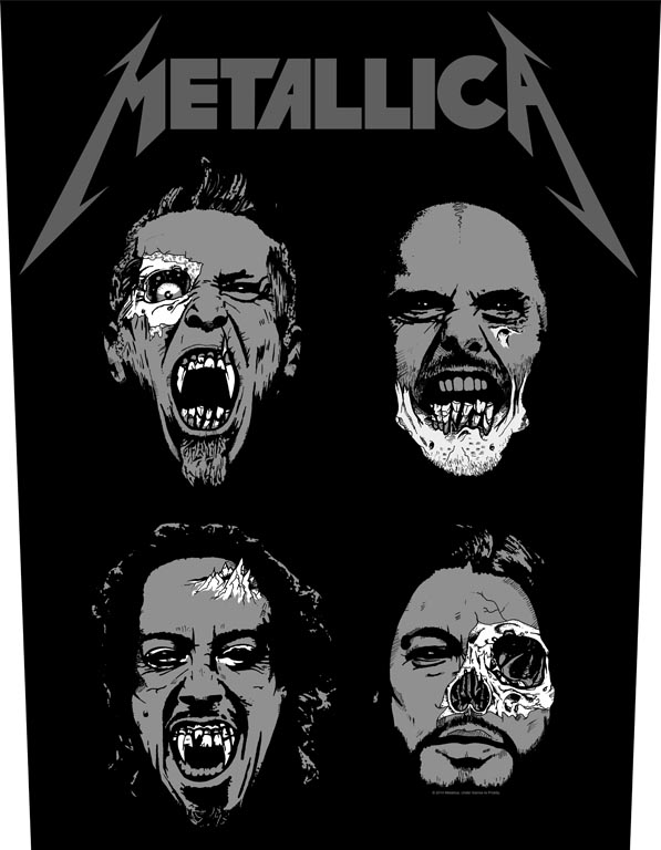 Metallica - Undead - Sew-On Back Patch