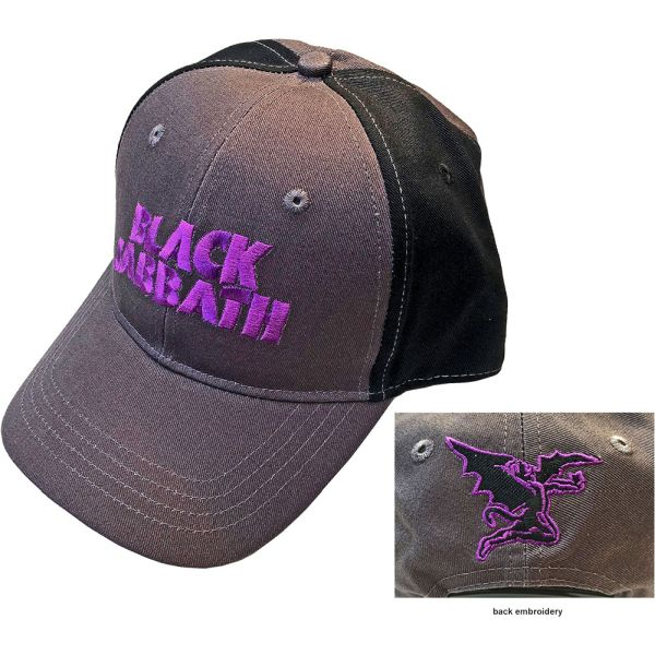 Black Sabbath - Premium Cap (2 Tone Logo and Daemon)
