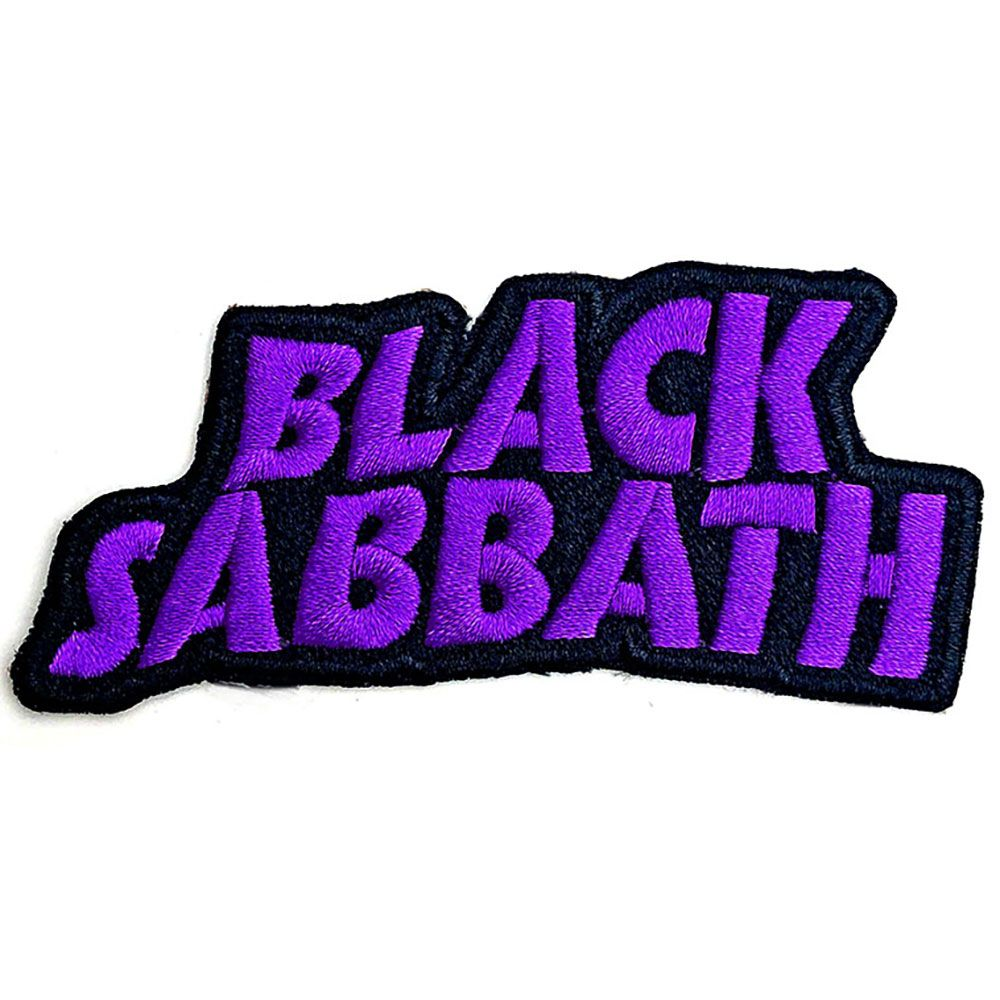 Black Sabbath - Cut-Out Sew-On Patch