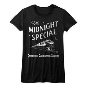 Creedence Clearwater Revival - Midnight Special Womens Black Shirt