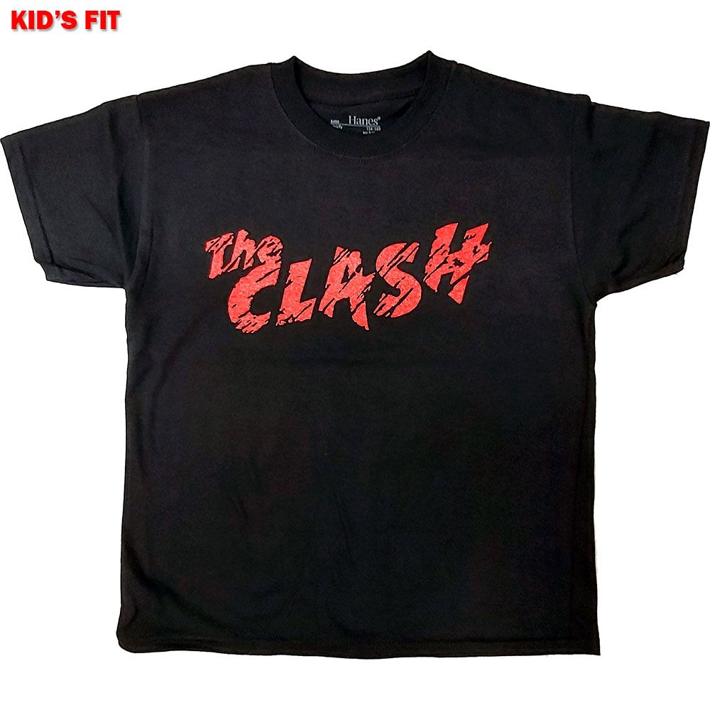 Clash - Logo Toddler and Youth Black Shirt