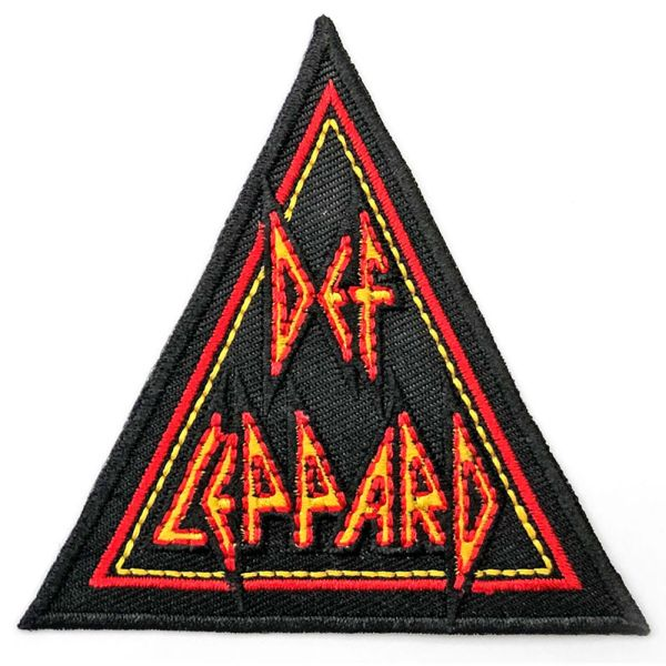 Def Leppard - Triangle Logo Sew-On Patch