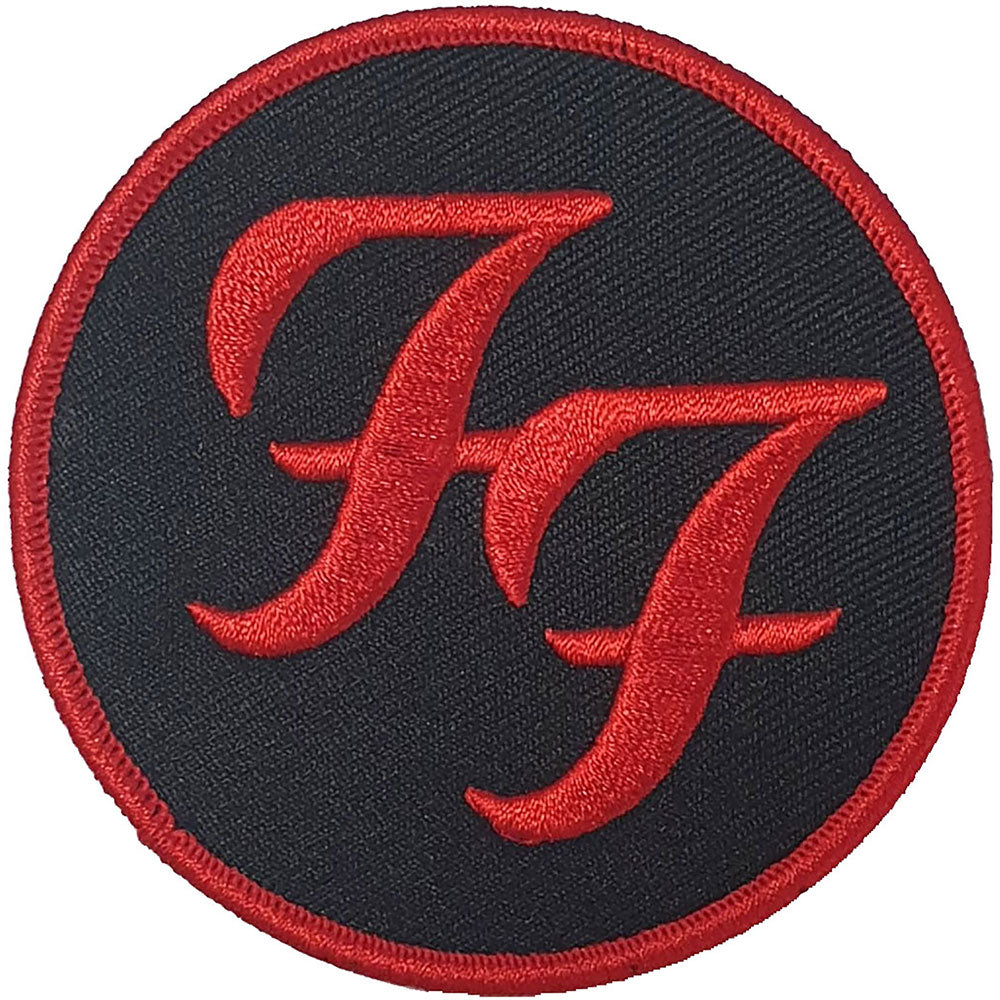 Foo Fighters - Circle Red Logo Sew-On Patch
