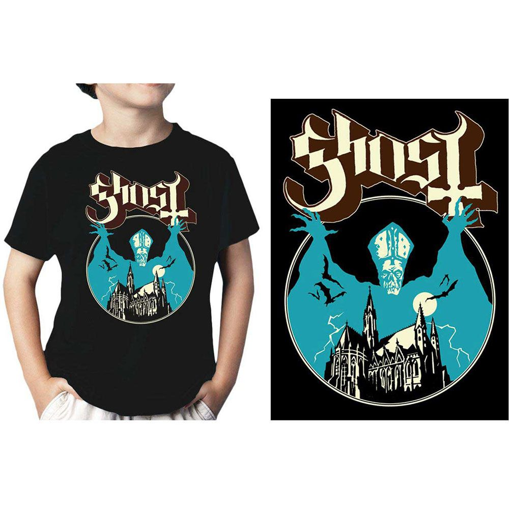 Ghost - Opus Eponymous Toddler and Youth Black Shirt