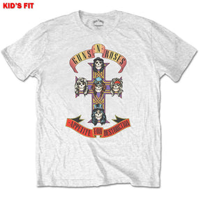 Guns N Roses - Appetite For Destruction Toddler and Youth White Shirt