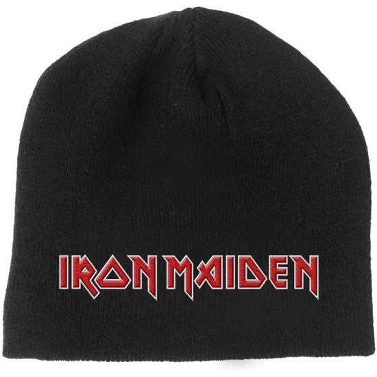 Iron Maiden - Knit Beanie - Embroidered - Logo
