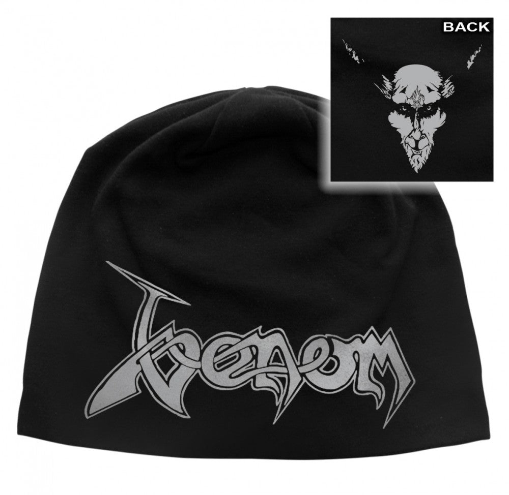 Venom - Light Cotton Beanie - Printed - Black Metal