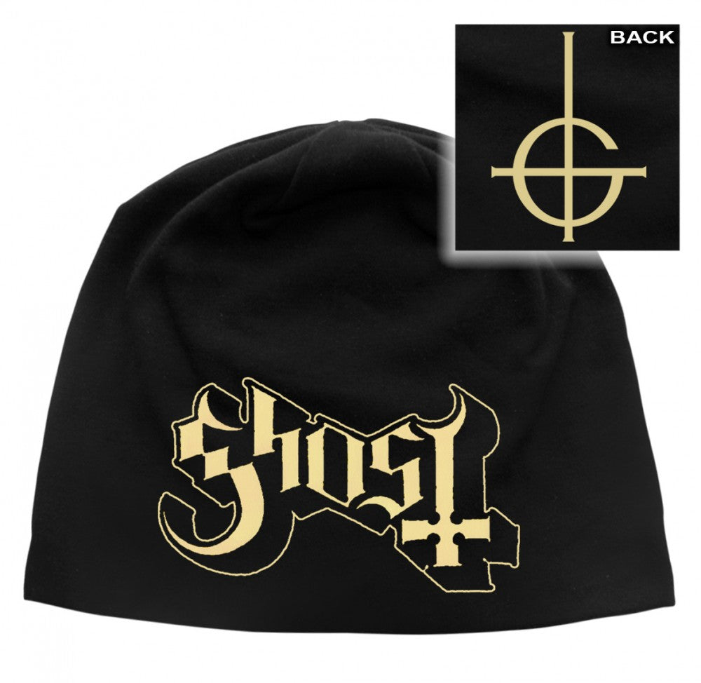Ghost - Light Cotton Beanie - Printed - Logo