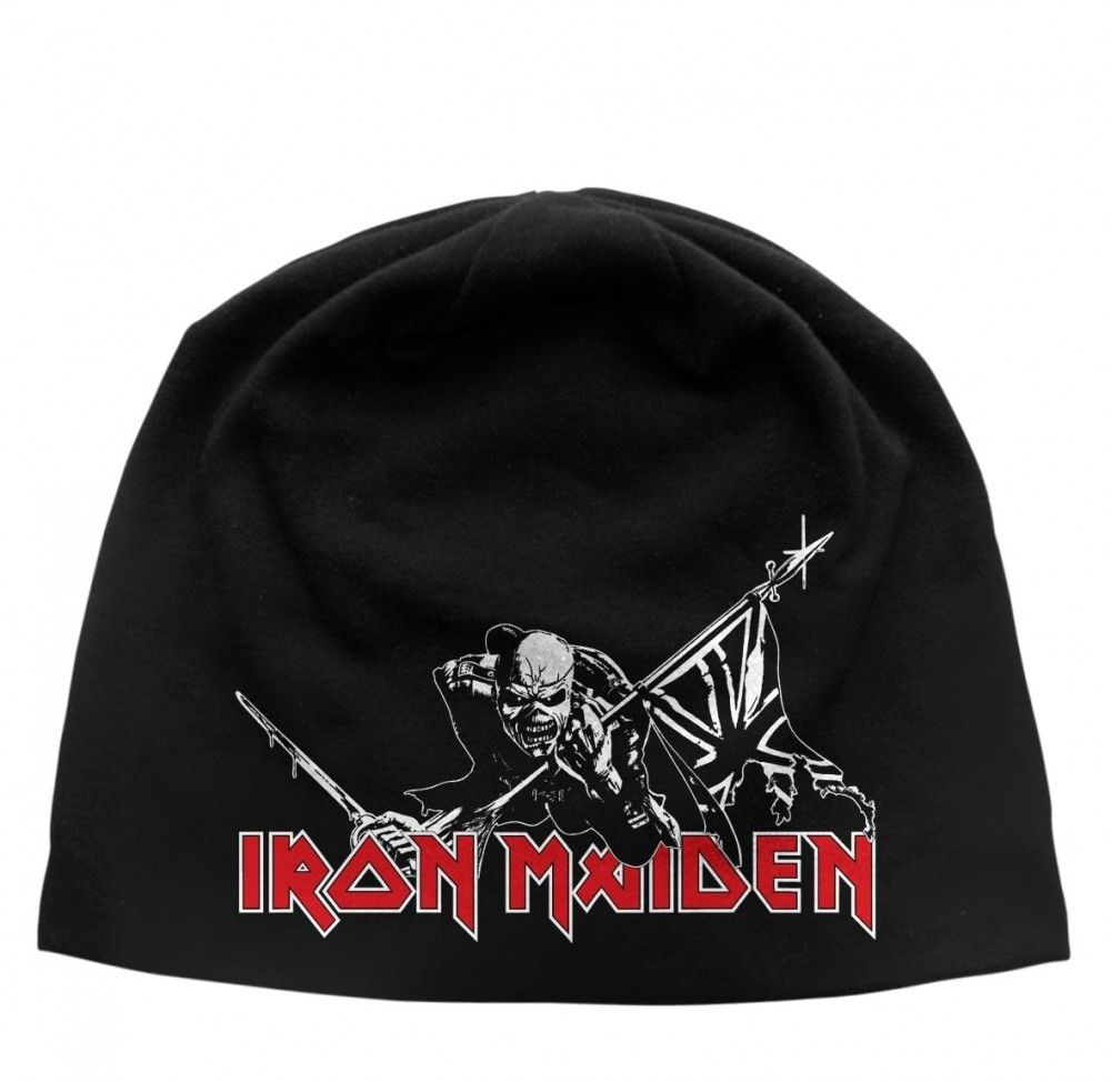 Iron Maiden - Light Cotton Beanie - Printed - Print The Trooper