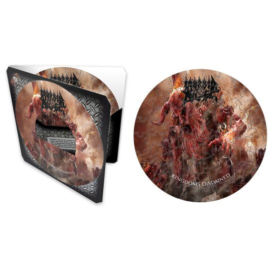 Morbid Angel - 72 Piece 180mm Dia. Jigsaw Puzzle (Kingdoms Disdained)