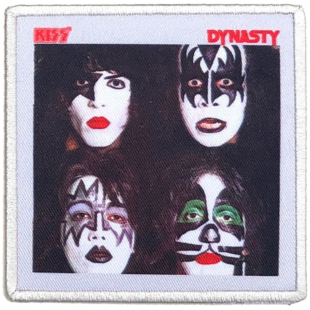 Kiss - Dynasty Sew-On Patch