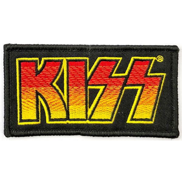 Kiss - Classic Logo Sew-On Patch